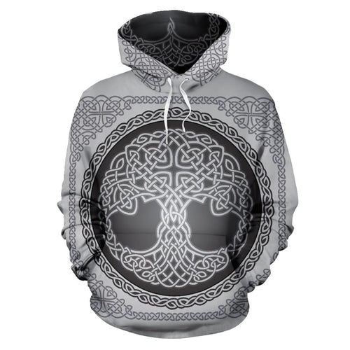 Celtic Tree of life Print All Over Print Hoodie