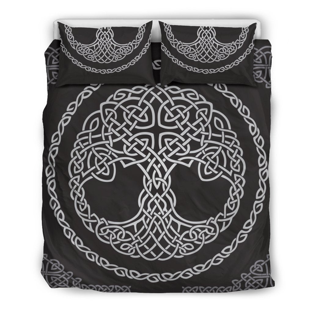 Celtic Tree of life Print Duvet Cover Bedding Set