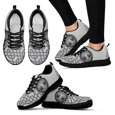 Celtic Tree of life Print Women Sneakers