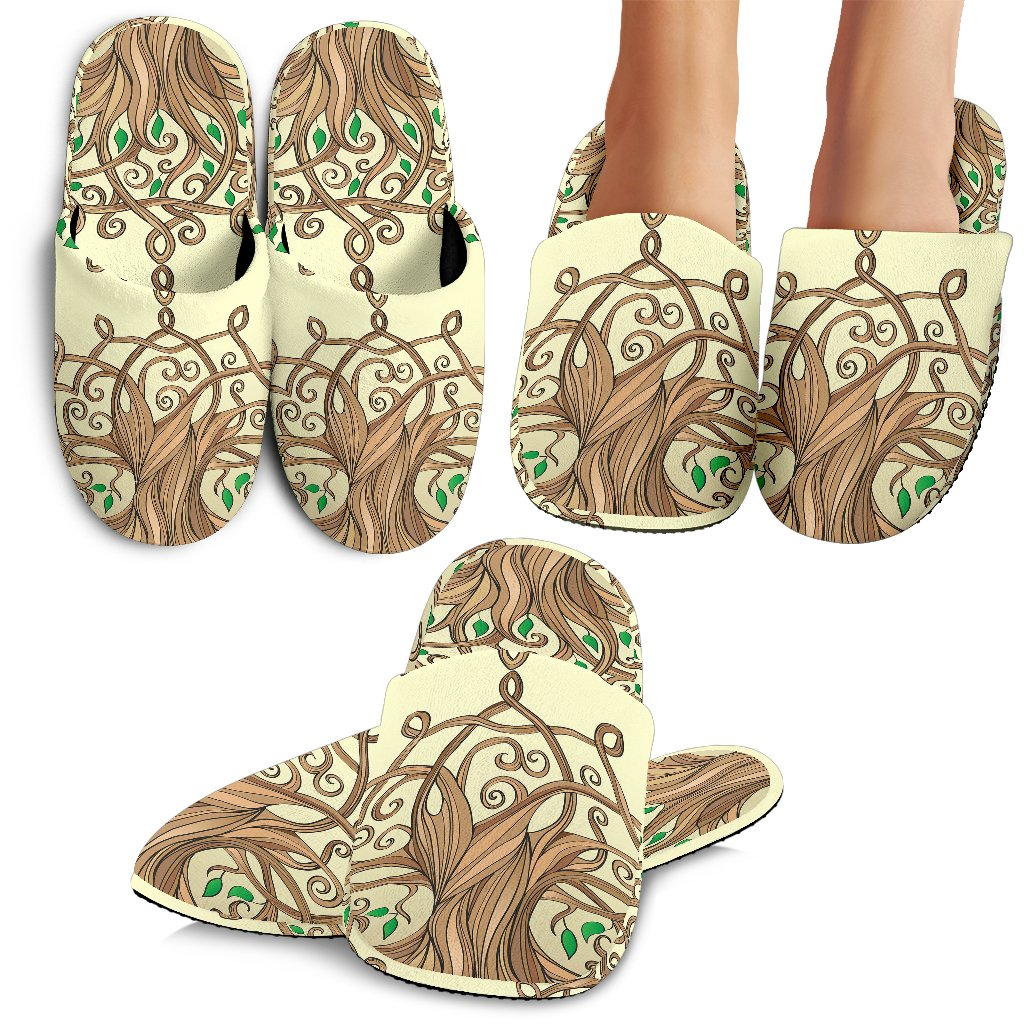 Celtic Tree Of Life Slippers