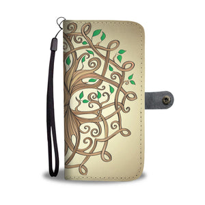 Celtic Tree of Life Wallet Phone Case