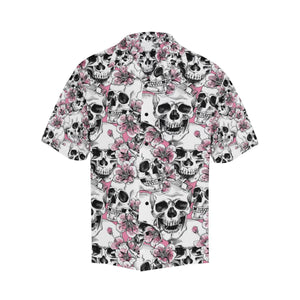 Cherry Blossom Pattern Print Design CB03 Men Hawaiian Shirt-JorJune