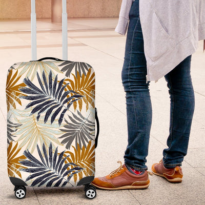 Colorful Tropical Palm Leaves Luggage Protective Cover