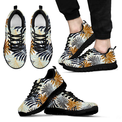 Colorful Tropical Palm Leaves Men Sneakers