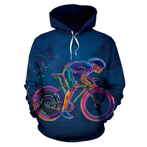 Cycling Neon Pullover Hoodie