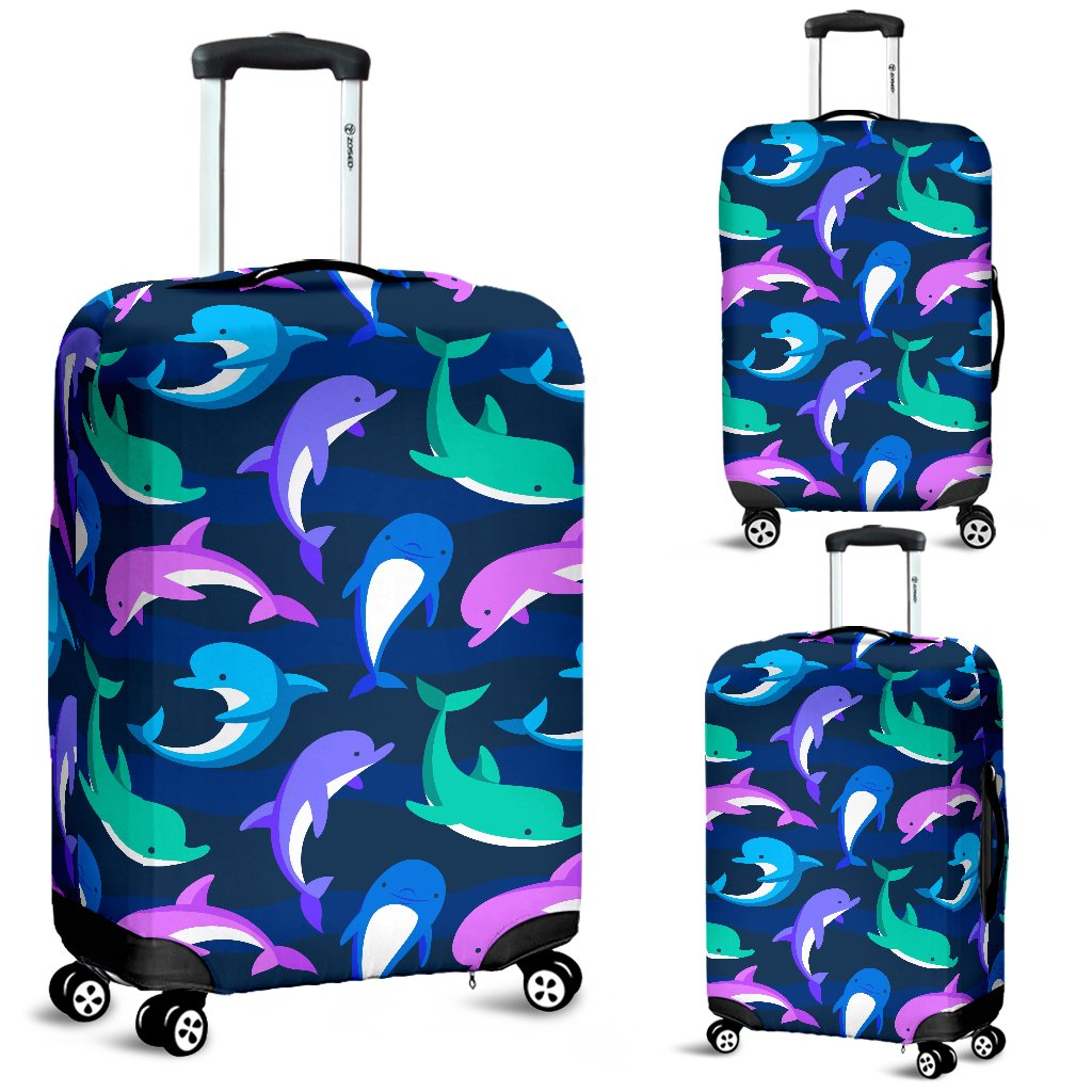 Dolphin Baby Luggage Cover Protector