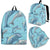 Dolphin Print Pattern Premium Backpack