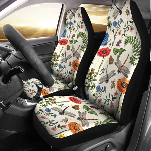 Dragonfly Garden Universal Fit Car Seat Covers
