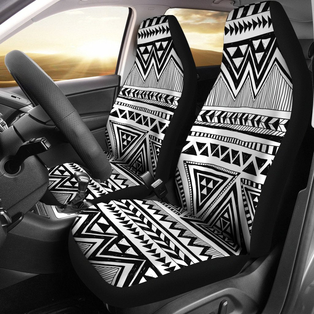 Draw Tribal Aztec Universal Fit Car Seat Covers