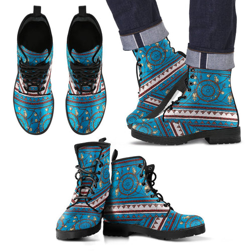Dream catcher Aztec Men Leather Boots
