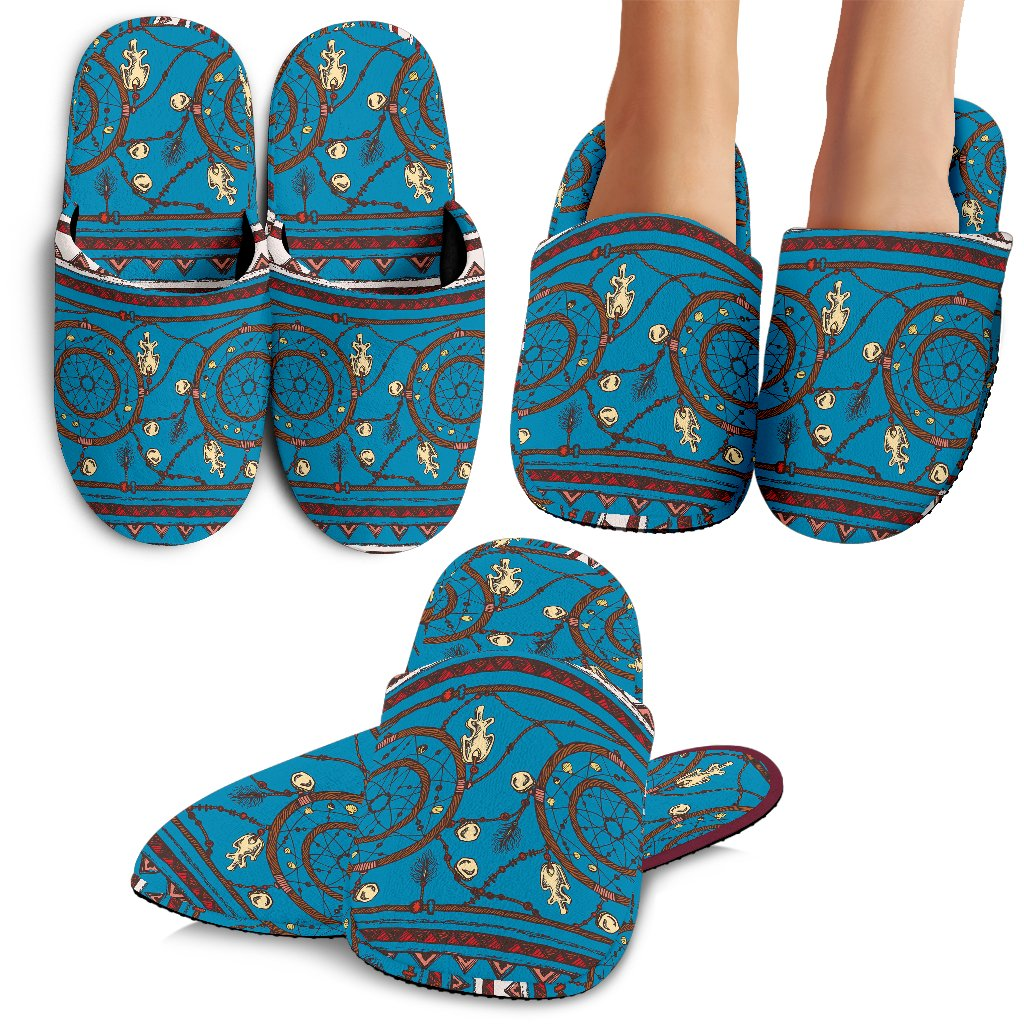 Dream Catcher Aztec Slippers