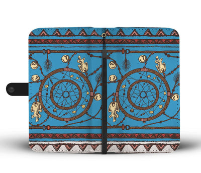 Dream catcher aztec Wallet Phone case