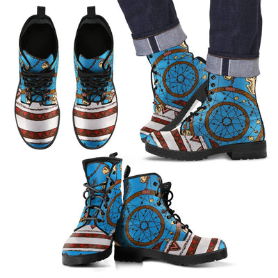 Dream catcher aztec Women & Men Leather Boots
