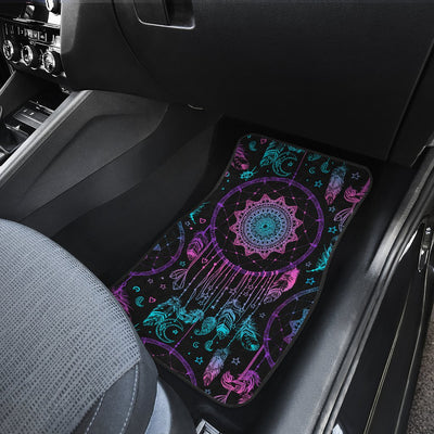Dream catcher boho mandala Car Floor Mats