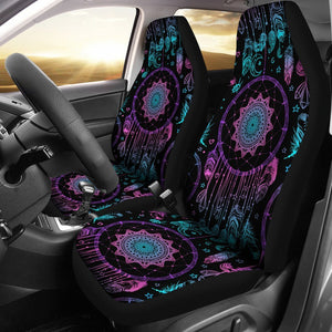 Dream catcher boho mandala Universal Fit Car Seat Covers