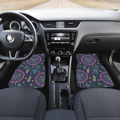 Dream catcher color dot Car Floor Mats