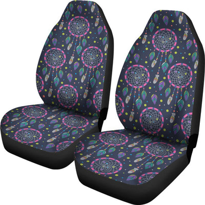 Dream catcher color dot Universal Fit Car Seat Covers
