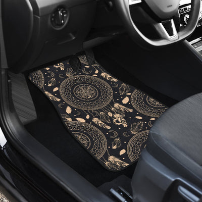 Dream Catcher Mandala Boho Moon Car Floor Mats