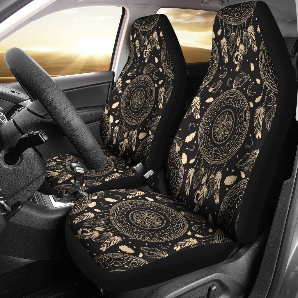 Dream catcher Nude Car seat cover