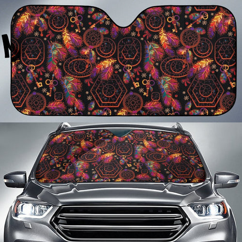 Dream Catcher Native American Car Sun Shade-JorJune