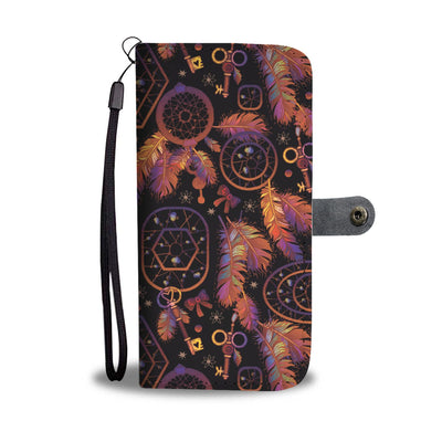 Dream catcher native american Wallet Phone case