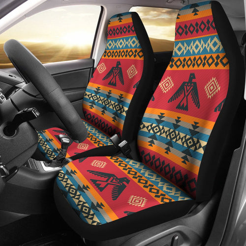 Eagles Native American Design Universal Fit Car Seat Covers