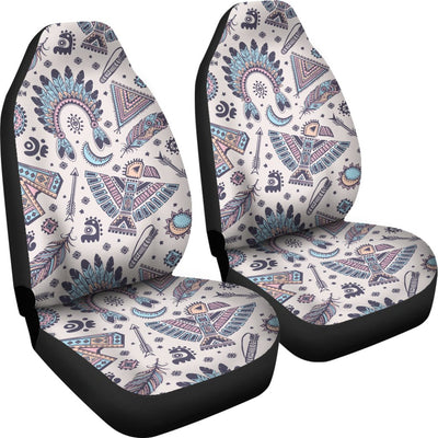 Eagles Native American Indian Symbol Universal Fit Car Seat Covers