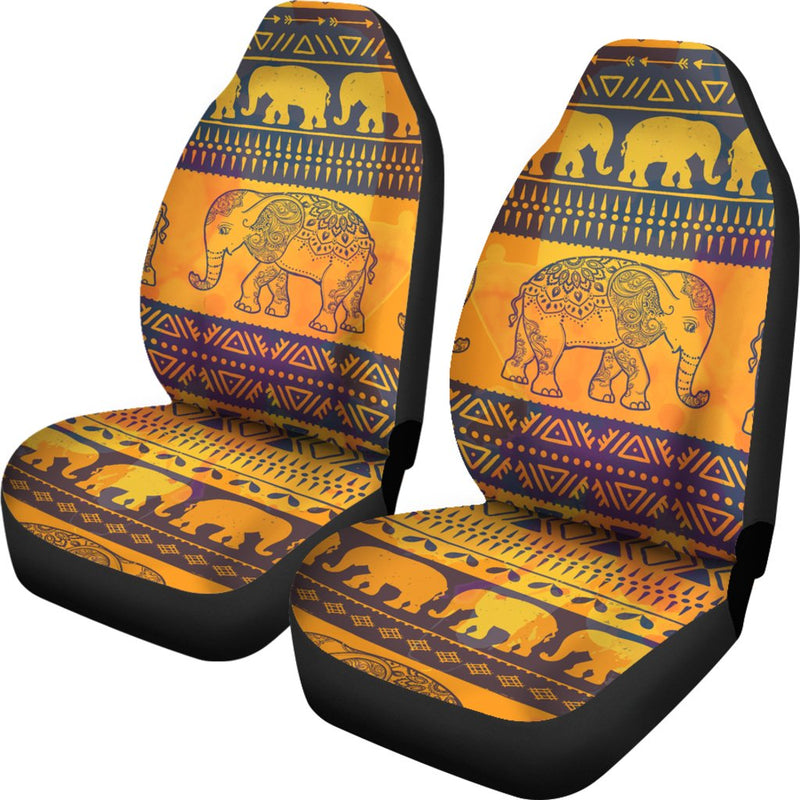 Elephant Aztec Universal Fit Car Seat Covers