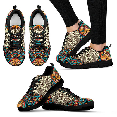 Elephant Colorful Indian Women Sneakers