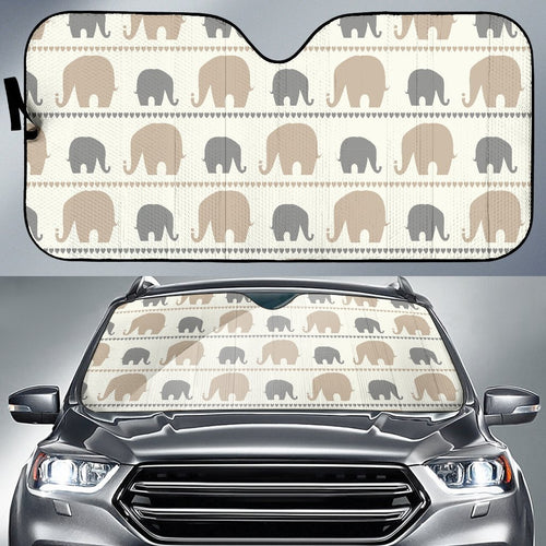 Elephant Cute Car Sun Shade-JorJune