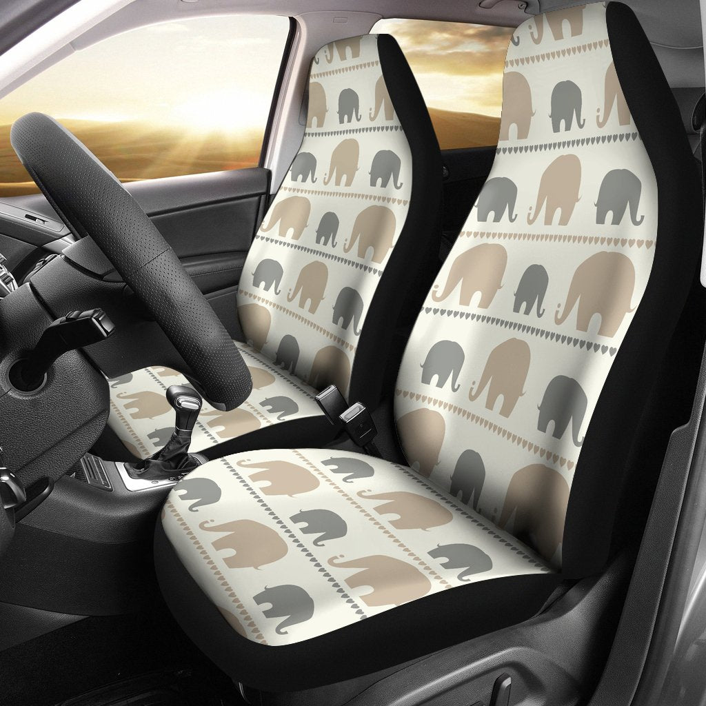 Elephant Cute Universal Fit Car Seat Covers