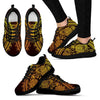 Elephant Gold Mandala Women Sneakers