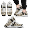 Elephant Hansa Lotus Pattern Men Sneakers