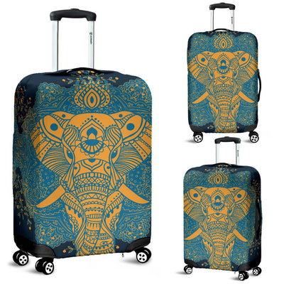 Elephant Indian Luggage Cover Protector