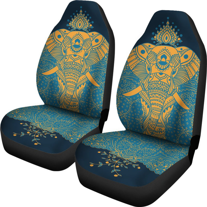Elephant Indian Universal Fit Car Seat Covers