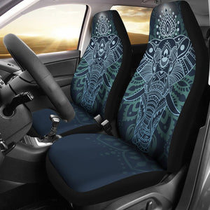 Elephant Mandala Universal Fit Car Seat Covers