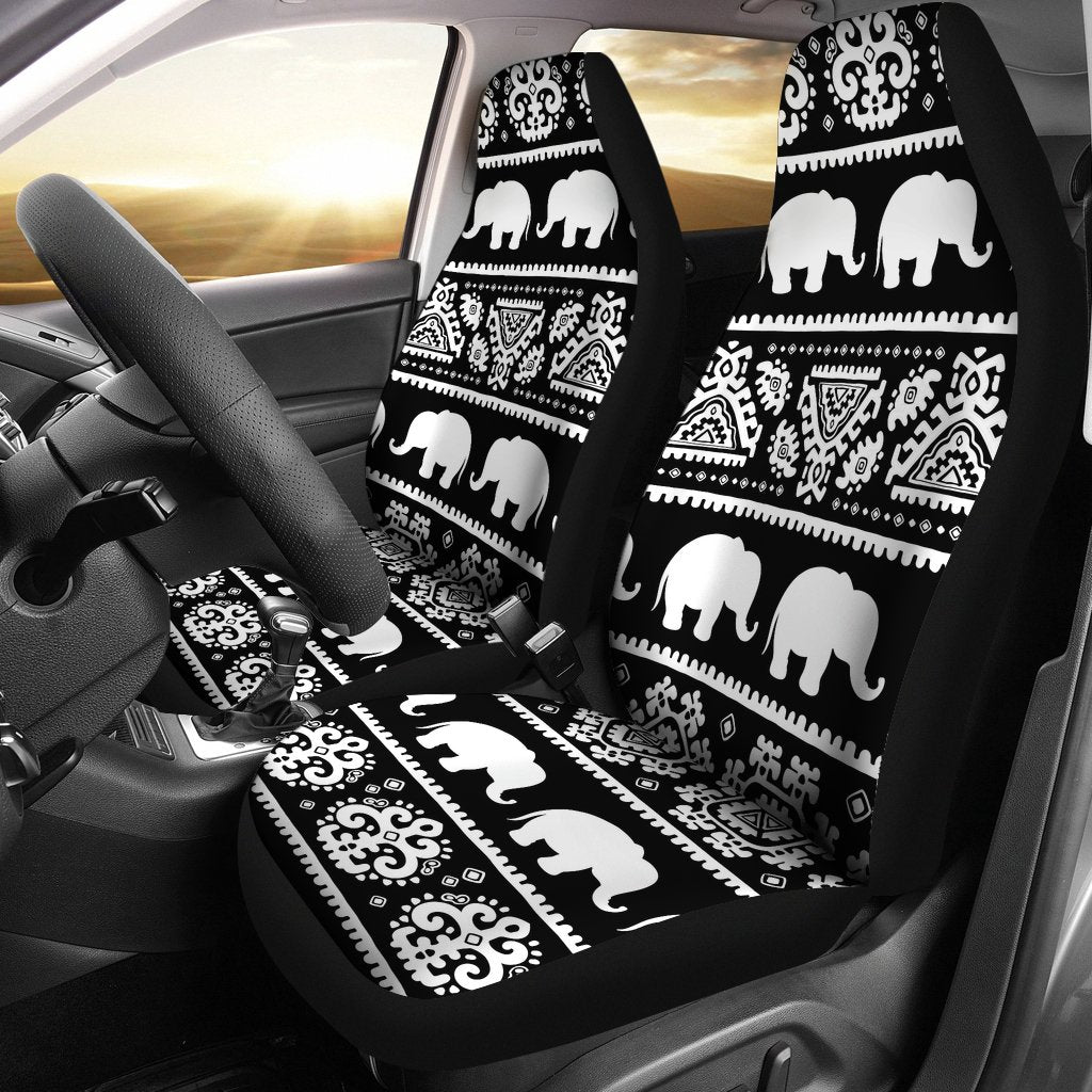 Elephant Pattern Universal Fit Car Seat Covers