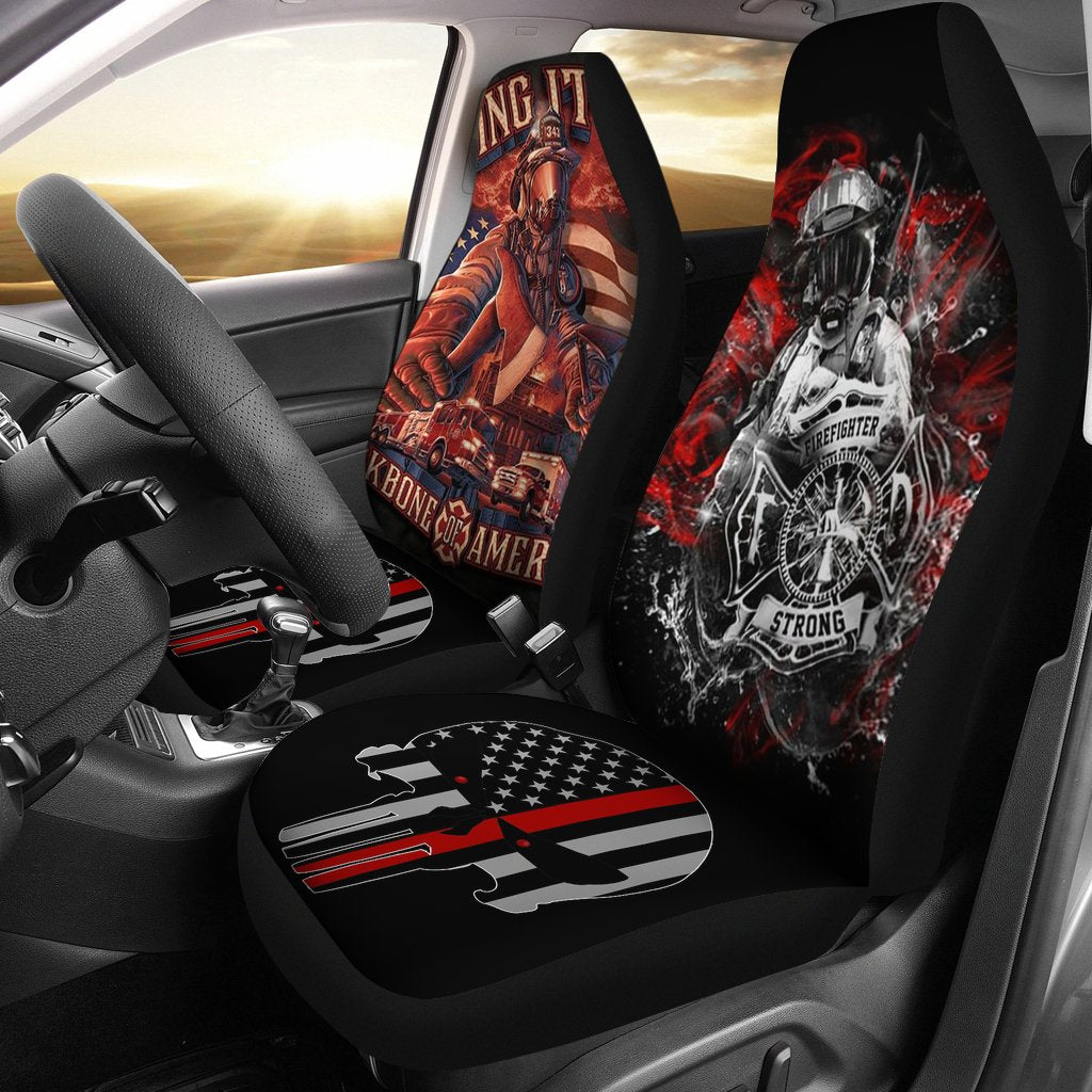 Firefighter Universal Fit Car Seat Covers