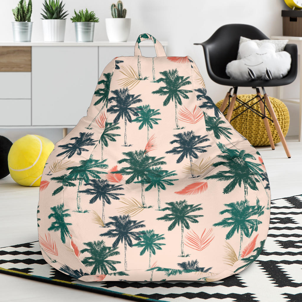 Palm Tree Pattern Print Design PT014 Bean Bag Chairs