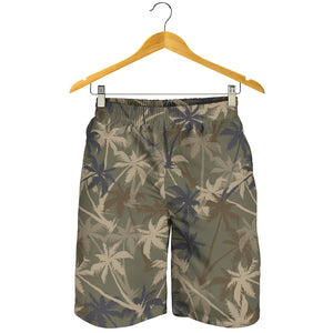 Palm Tree camouflage Mens Shorts