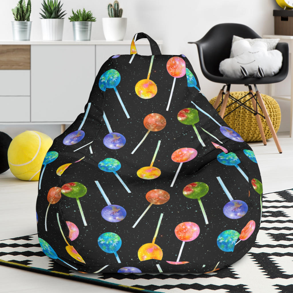 Lollipop Pattern Print Design LL04 Bean Bag Chairs
