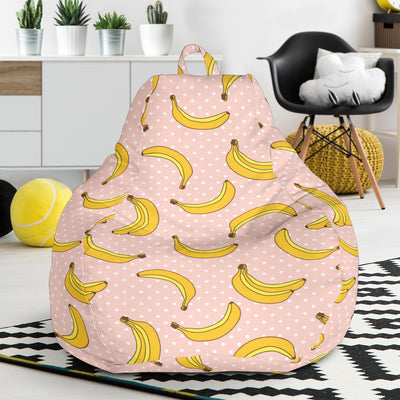 Banana Pattern Print Design BA06 Bean Bag Chairs