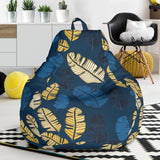 Banana Leaf Pattern Print Design BL09 Bean Bag Chairs