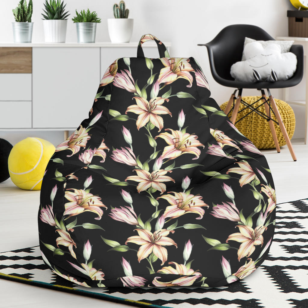 Lily Pattern Print Design LY05 Bean Bag Chairs