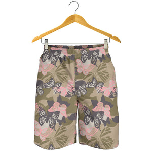 Butterfly camouflage Mens Shorts