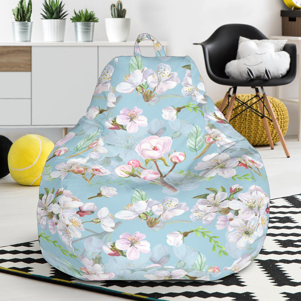 Apple Blossom Pattern Print Design AB06 Bean Bag Chairs