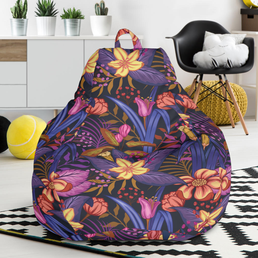 Lily Pattern Print Design LY016 Bean Bag Chairs