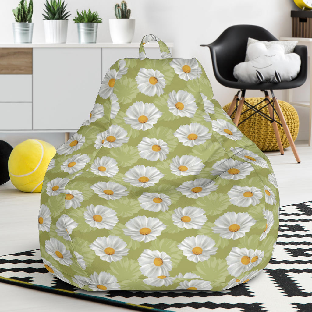 Daisy Pattern Print Design DS06 Bean Bag Chairs