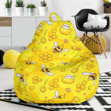 Bee Pattern Print Design BEE01 Bean Bag Chairs
