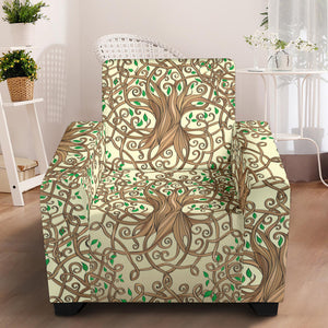 Celtic Tree of life Armchair Slipcover